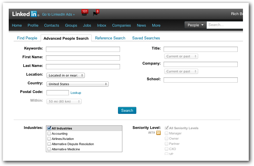 Find B2B Leads Through LinkedIn Advanced Search