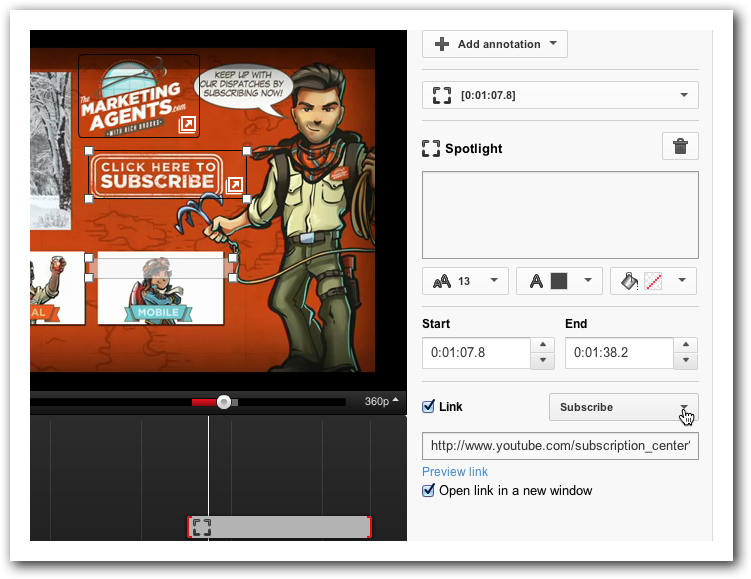 Add a Subscribe Button to Your YouTube Video