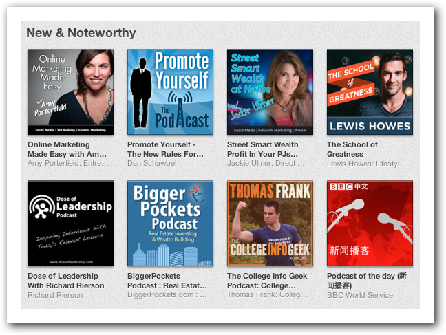 How to Get Into New & Noteworthy in iTunes