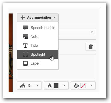 Adding an Annotation in YouTube