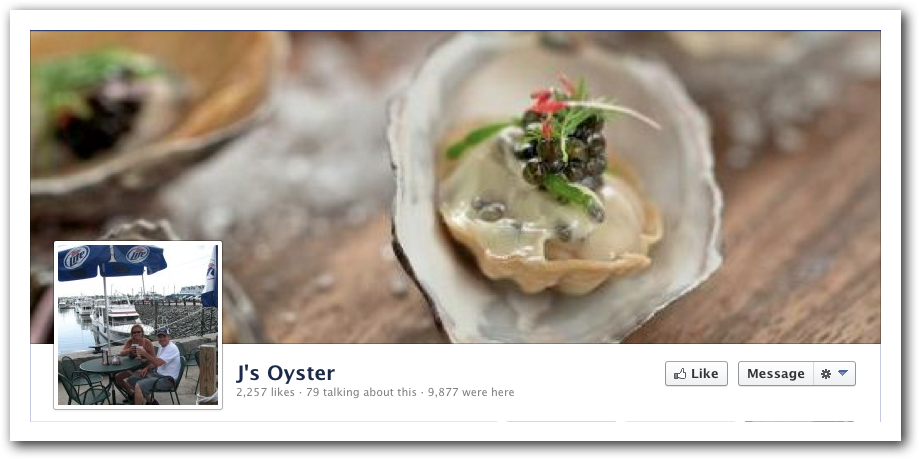 J's Oyster Facebook Profile Pic