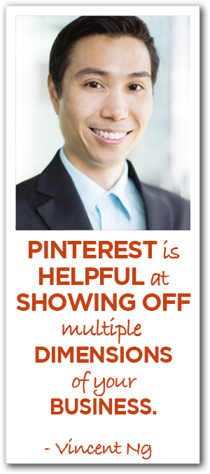 Vincent Ng on Pinterest Marketing